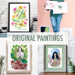 Opere originali - Original paintings