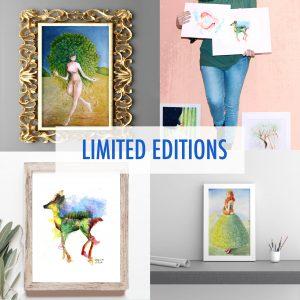 Stampe artistiche in edizione limitata - Limited Edition Art Prints