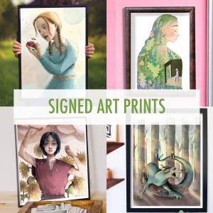 Stampe autografe - Signed Art Prints